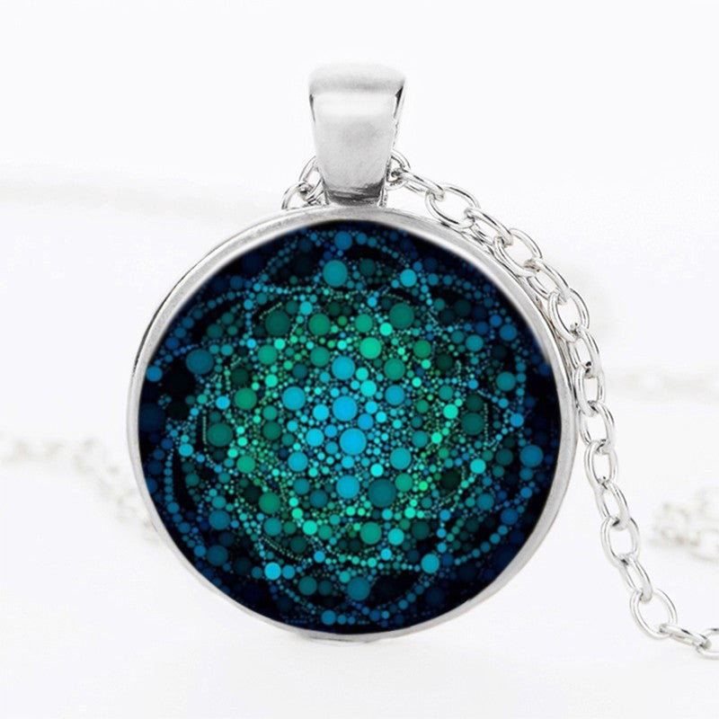 Sacred geometry pendant meditation jewelry necklace sacred geometry pendant necklace meditation jewelry aloadofball Gallery