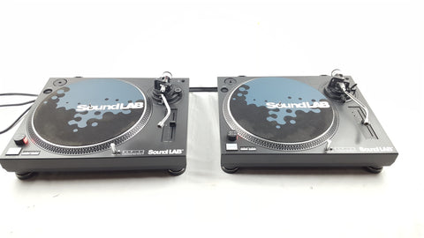 SOUNDLAB DPL - 12 TURNTABLES VINYL RECORD PLAYER DECKS DJ - uk-turn-table-lab