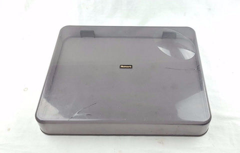 NUMARK TT 100 DUST COVER PLASTIC LID GOOD CONDITION - uk-turn-table-lab