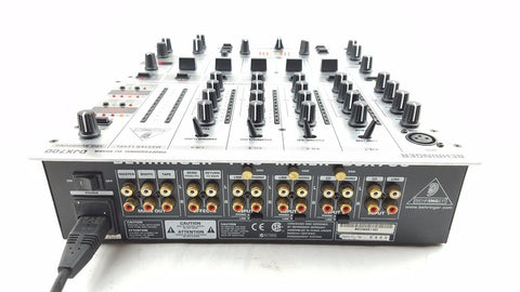 Behringer DJX700 5-Channel Pro DJ Mixer with Digital Effects-n/a-DJ Decks