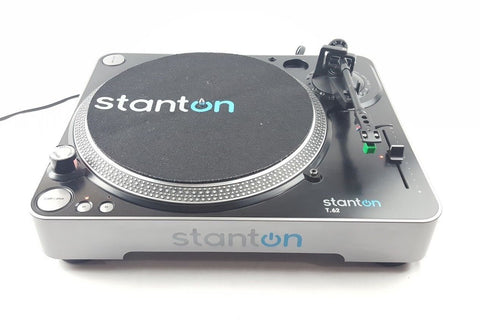 Stanton T 62 Direct Drive Professional DJ Record Player Turntable - uk-turn-table-lab