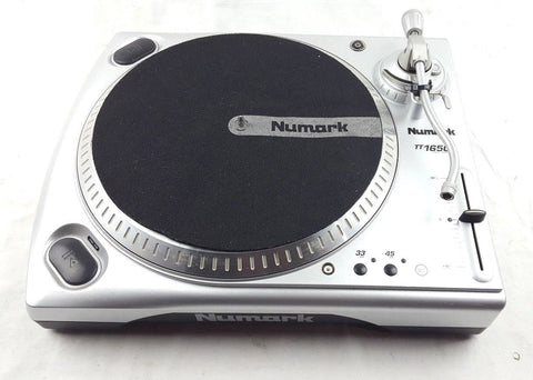 NUMARK TT 1650 TURNTABLE VINYL RECORD PLAYER DECKS DJ - uk-turn-table-lab
