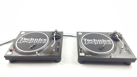 2 Technics SL-1210 MK3 Turntables in Excellent Condition - uk-turn-table-lab