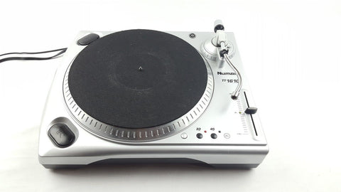 NUMARK TT 1610 TURNTABLE VINYL RECORD PLAYER DECKS DJ-DJ Decks-DJ Decks
