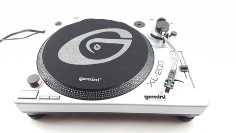 GEMINI XL 200 TURNTABLE + HEADSHELL VINYL RECORD PLAYER DECKS DJ - uk-turn-table-lab