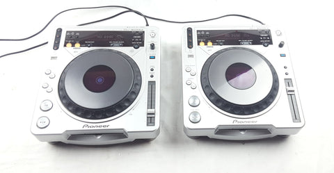 2 X Pioneer cdj 800 MK2 VERY GOOD CONDITION FULLY WORKING DJ DECKS - uk-turn-table-lab