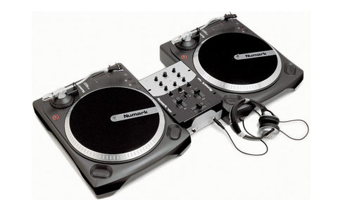 Numark - Battle Pack Decks Package 2X TT 1625 + MIXER + HEADPHONES-DJ Decks-DJ Decks