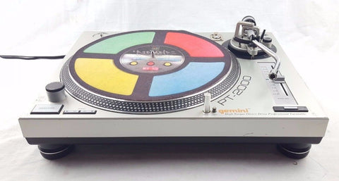 GEMINI PT-2000 DIRECT DRIVE DJ VINYL HI-FI HIFI DECK TURNTABLE DJDECK - uk-turn-table-lab