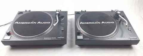 AMERICAN AUDIO - Battle Pack Decks Package 2X TTD-2400 - uk-turn-table-lab