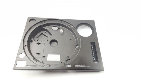 Technics 1210 Mk2 Chabinet & Chassis Part SFAC124S01 Cabinet Black SL-1210mk2 - uk-turn-table-lab