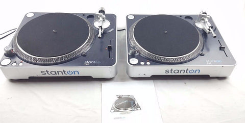 STANTON T 60 TURNTABLES VINYL RECORD PLAYER DECKS DJ - uk-turn-table-lab