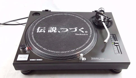 TECHNICS SL-1200MK2 TURNTABLE GOOD CONDITION - SERVICED - DJ DECKS - uk-turn-table-lab