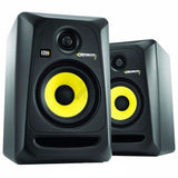 PAIR KRK Rokit RP5 G3 Active Powered Studio DJ Monitors with Stands & cables-UK Turntable Lab-DJ Decks