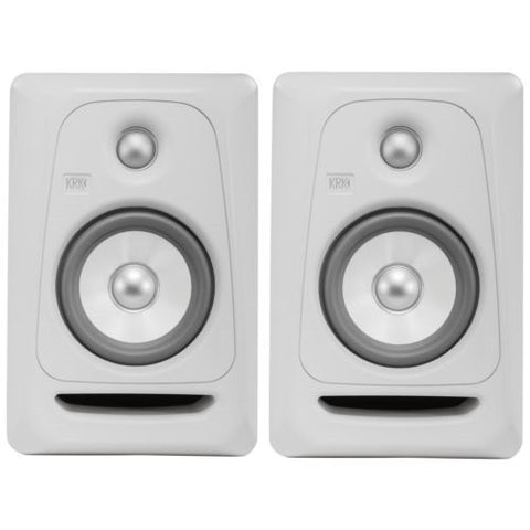 2x KRK ROKIT 5 RP5G3 RP5 G3 Pair - Studio Monitor Speakers *White Noise Edition*-UK Turntable Lab-DJ Decks