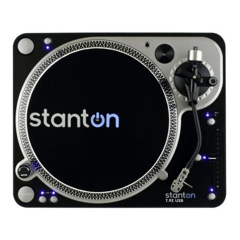 Stanton T.92 / T92 USB High Torque Direct Drive DJ Vinyl Turntable SINGLE-UK Turntable Lab-DJ Decks
