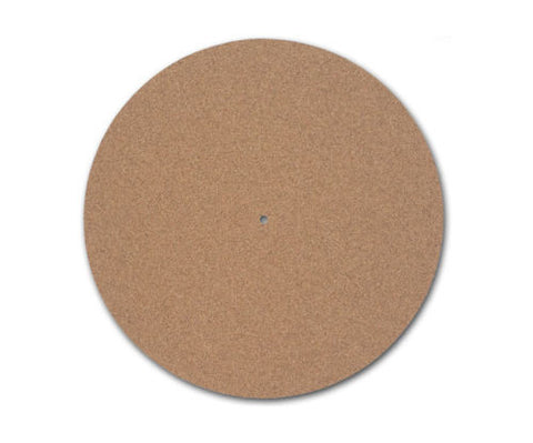 TURNTABLE / PLATTER MAT - CORK - 3mm Thick - Audiophile Quality -UK Turntable Lab-DJ Decks