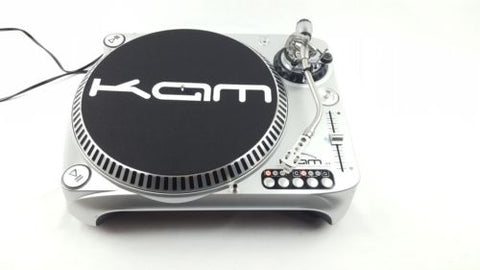 KAM DDX4000 TURNTABLE + HEADSHELL VINYL RECORD PLAYER DECKS DJ - uk-turn-table-lab