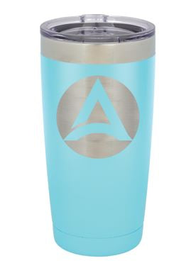 Polar Camel 20 OZ. Mug with Clear Lid