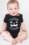 Caution Teething Onsie