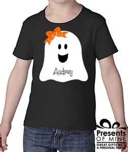 Toddler Girl Ghost Shirt