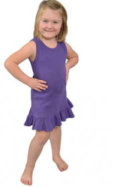 Youth Ruffled Dress