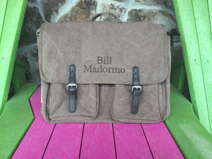 Washed Canvas Messenger bag
