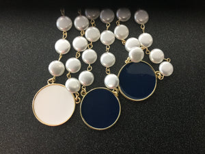 Pearled Blanche Necklace