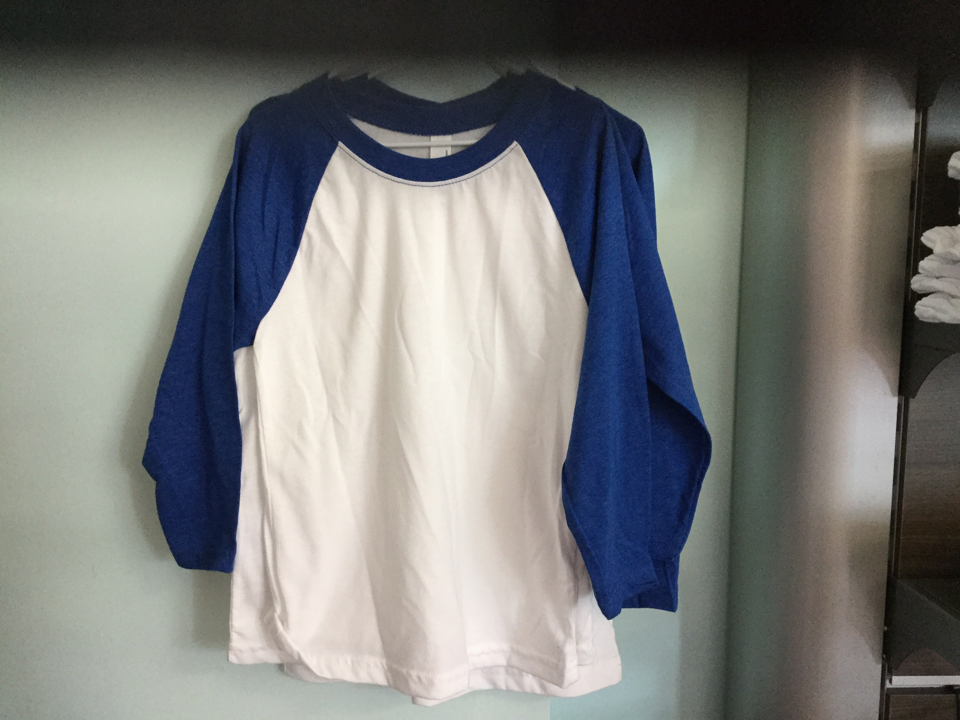Youth Uni-sex Baseball Raglan