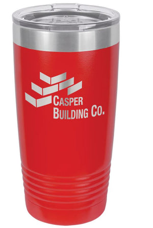 20 oz. Insulated Ringneck Tumbler with clear lid