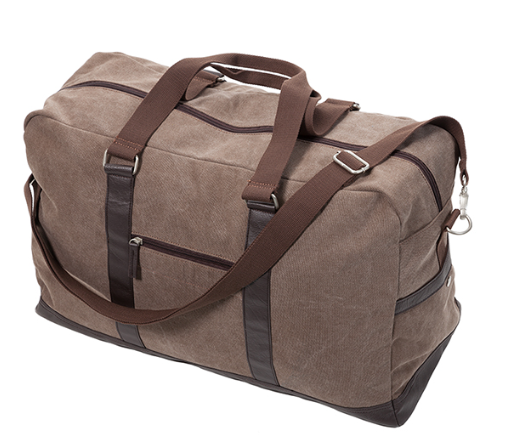 Washed Canvas Duffle