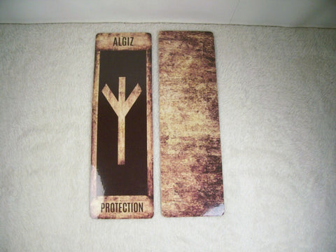 Rune Bookmarks (Brown Grunge)