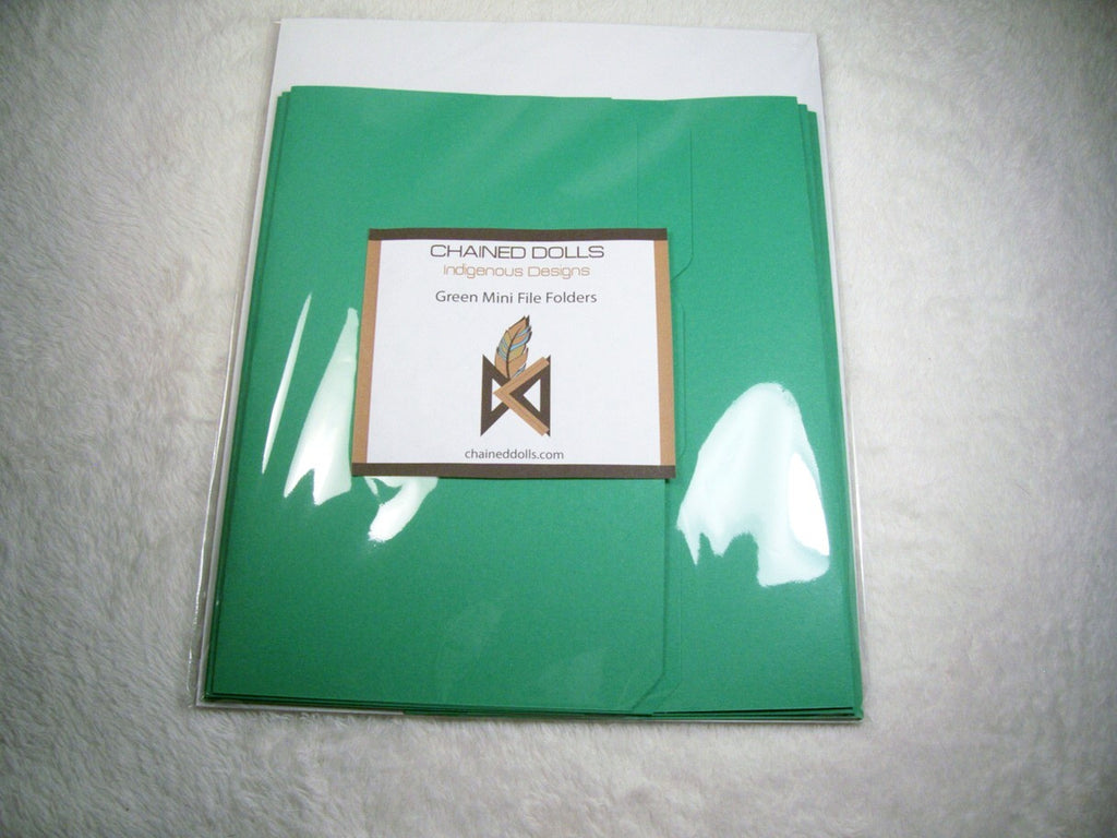RBG Mini File Folders