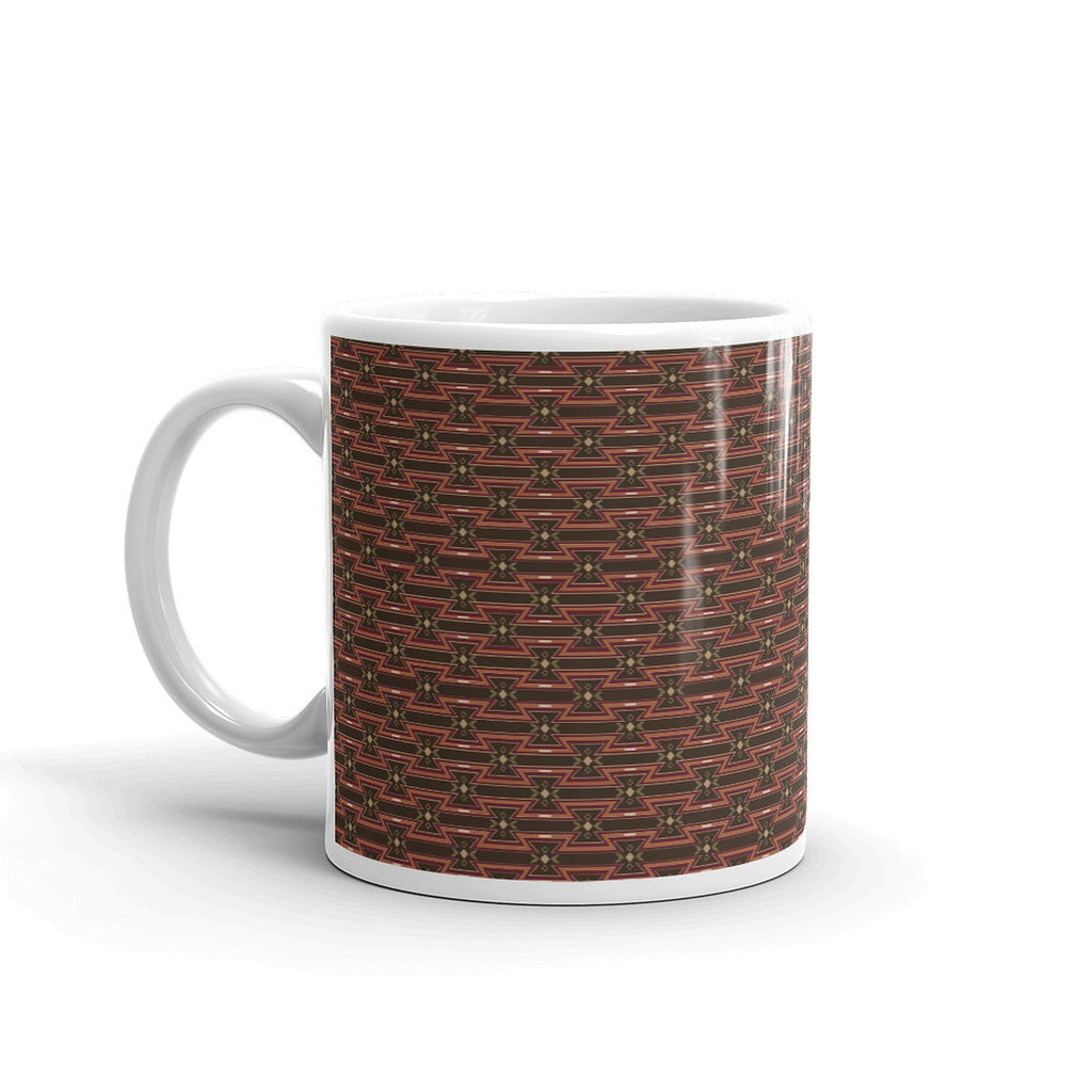 Indigenous Print 2 Coffee Mugs