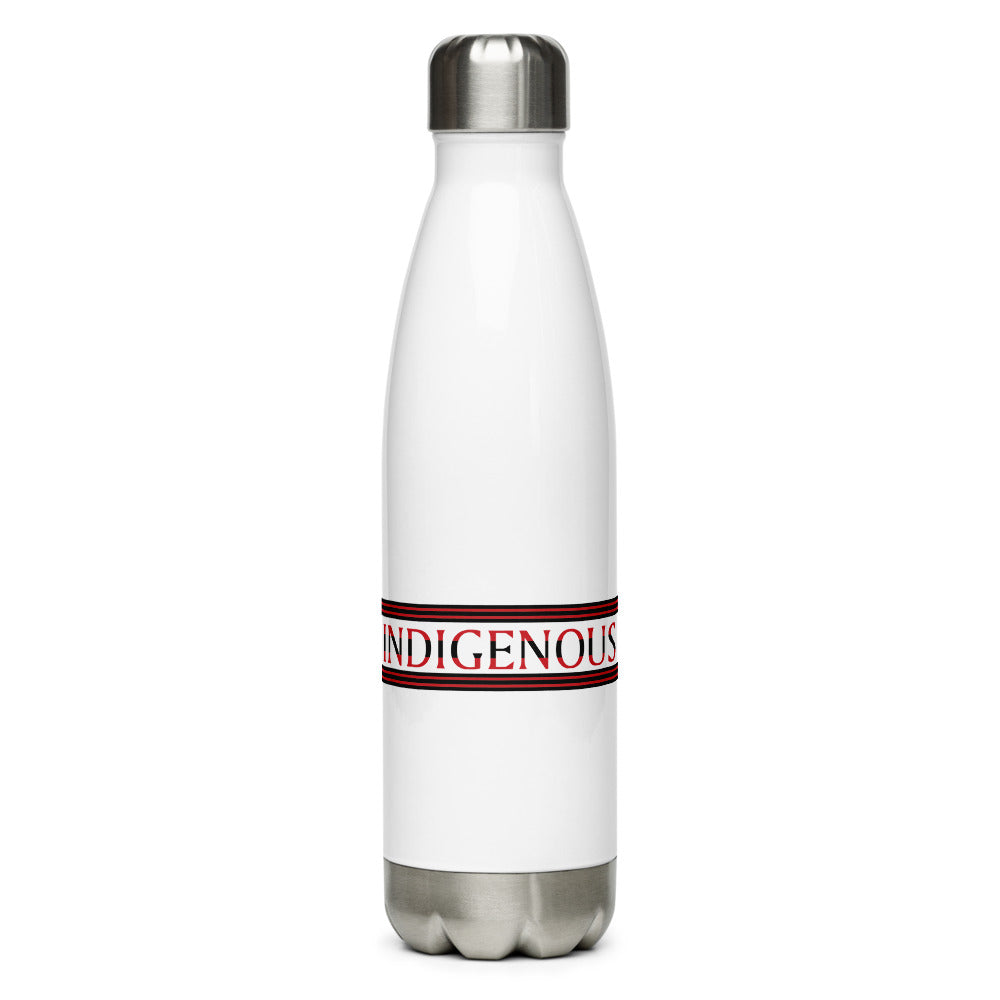 Indigenous Red Water Bottle