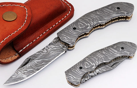 Handmade damascus custom Knives |  Smith Online Studio.