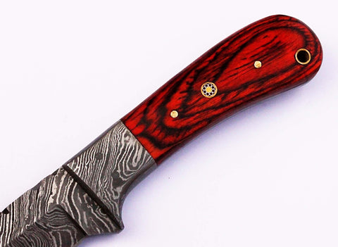 Damascus steel blade  knife UK . 2073