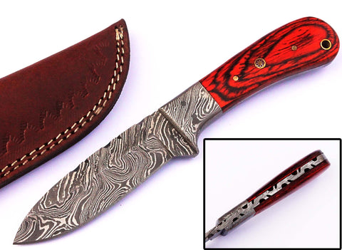 High carbon damascus steel  / Smith Online Studio.