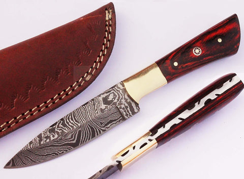 Original damascus steel knives / Smith Online Studio.