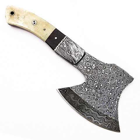 Damascus steel blade axe  for sale 2099