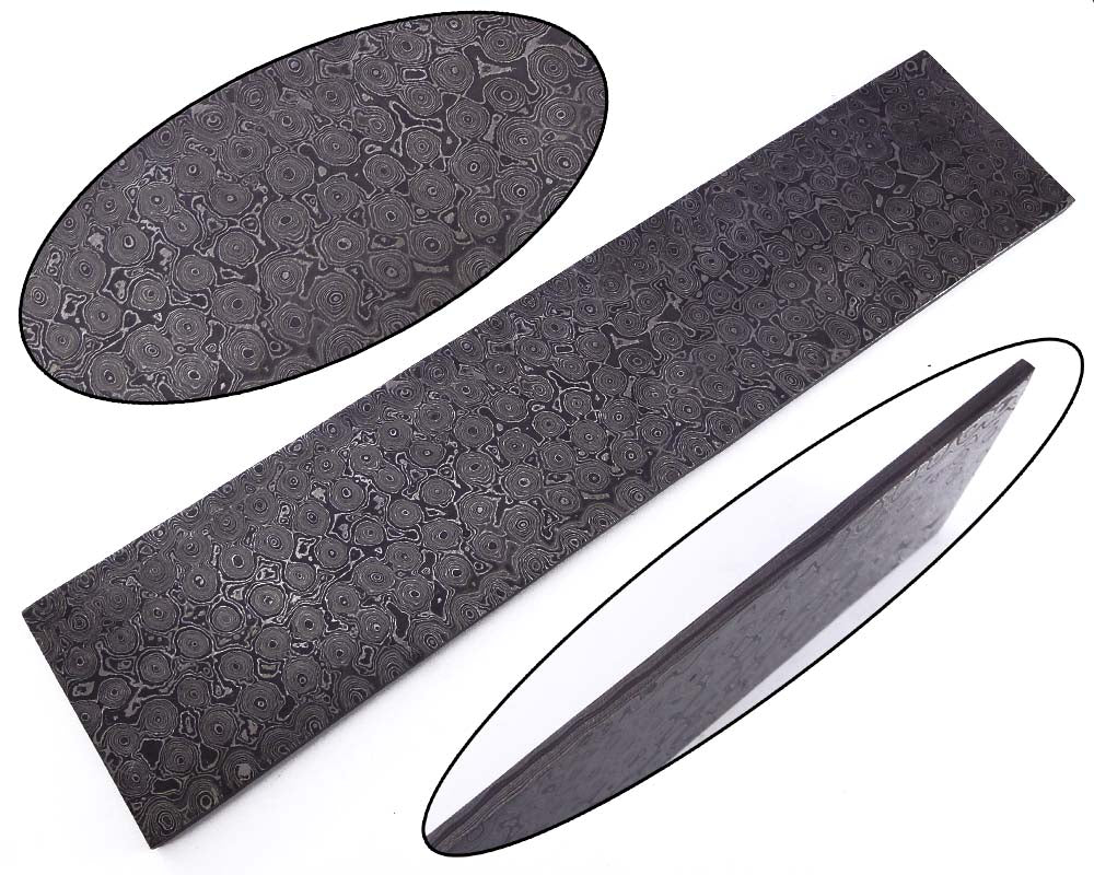 damascus steel bar for blank blade | Smith Online Studio.