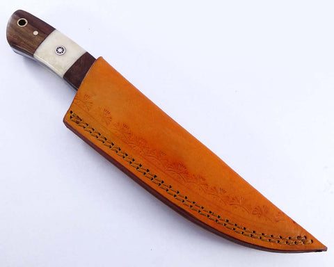 Damascus steel blade  knife UK . 2135