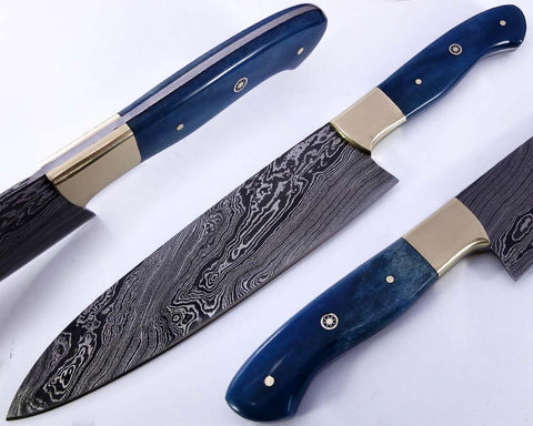 Genuine Damascus steel Chef knives for sale | Smith Online Studio.