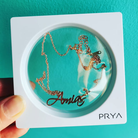 My Name Necklace -  Amias