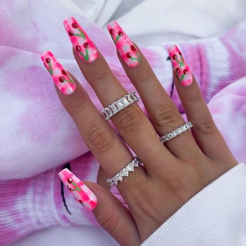 How to wear rings on multiple fingers - Trio of rings