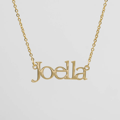 Why choose PRYA Jewellery - personalised name necklace that makes a great personalised gift