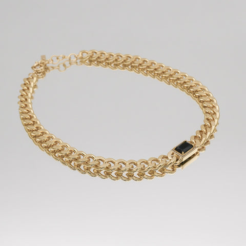 curb link chain for woman