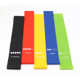 Professional Resistance Band Set (5 x bands).Free shipping.
