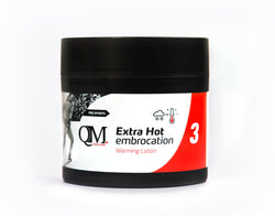 Premium QM Massage Lotion No.3 - Extra Hot 200ml - kascelmed