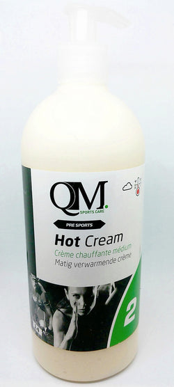Premium QM Massage Lotion No.2. Hot. 500ml with Applicator - kascelmed