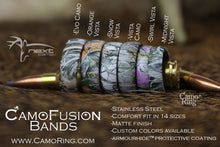 CamoFusion Stainless Steel Band - Choose your Pattern